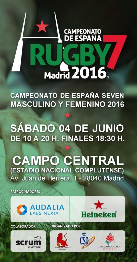Campeonato Espana Seven Junio 2016