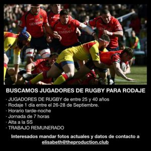 rugby empleo