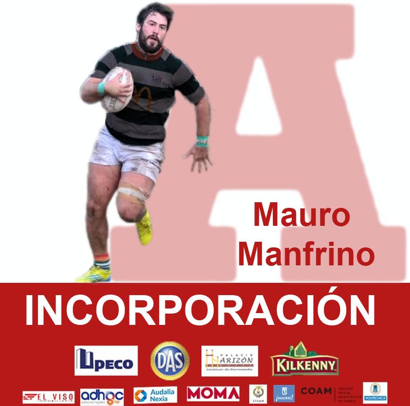 rugby Mauro Manfrino