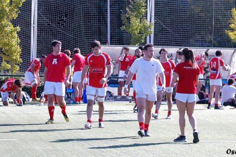 Fotos del partido de rugby Arquitectura A vs Liceo Francés